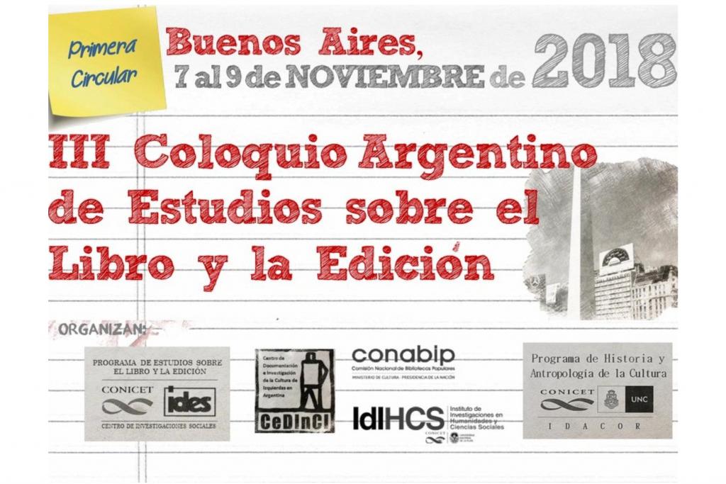 III Coloquio Argentino de Estudios sobre el Libro y la Edición