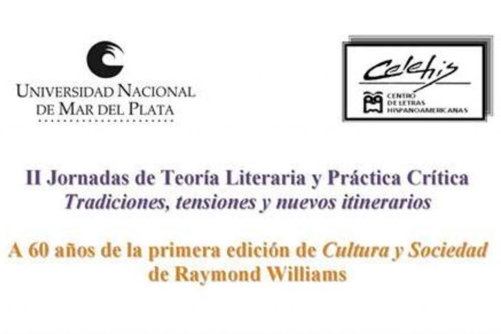 II Jornadas de Teoría Literaria y Práctica Crítica