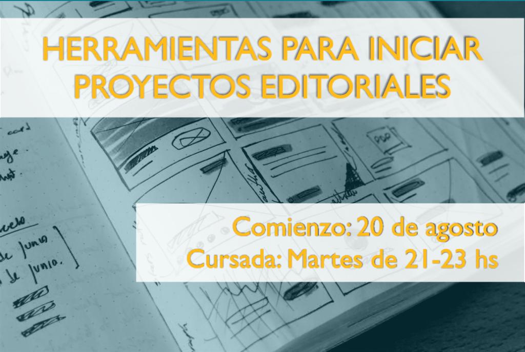 Herramientas para iniciar proyectos editoriales