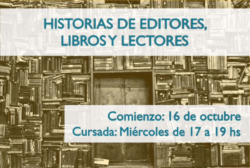 Historias de editores, libros y lectores