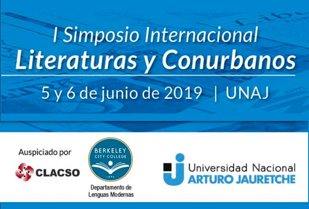 """I Simposio Internacional """"Literaturas y Conurbanos"""""""