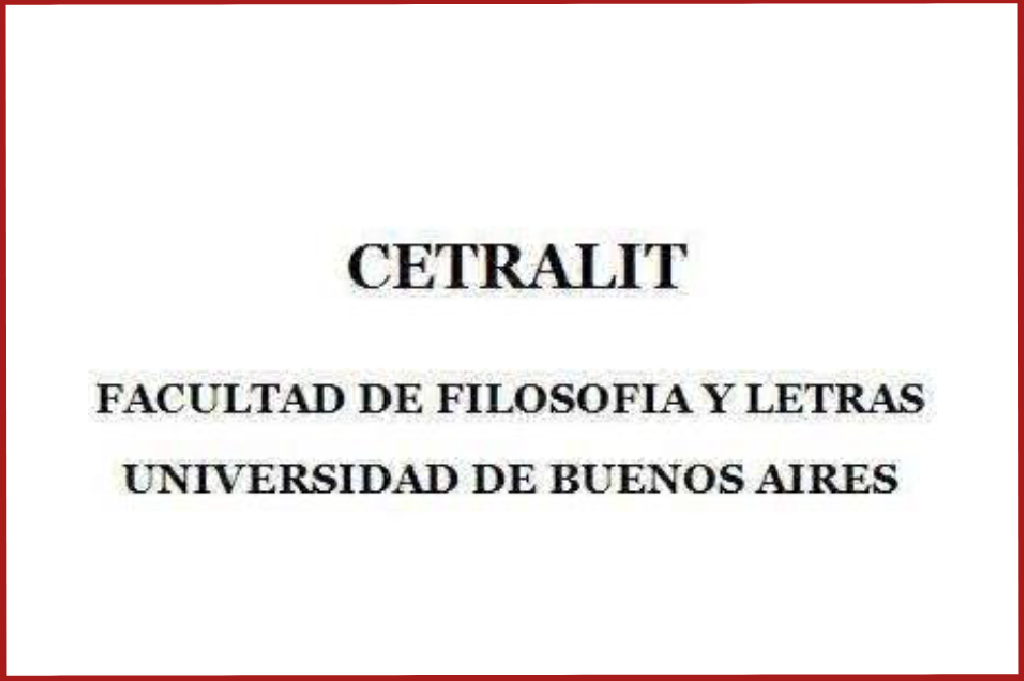 Historia de la Traducción Editorial en la Argentina (CETRALIT)